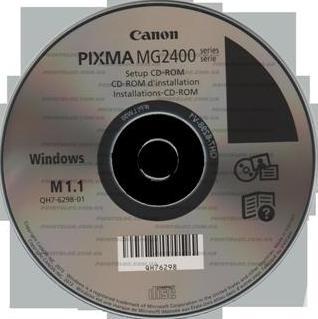 скачать драйвера canon pixma mg 2400