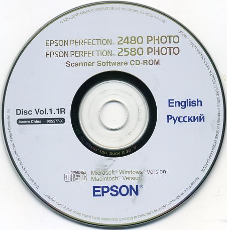 скачать драйвер для epson perfection 2480 photo win7